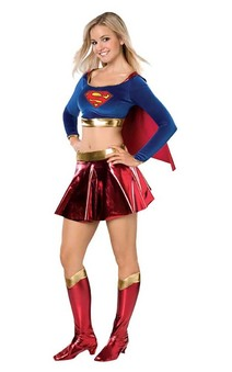 Superman Supergirl Teen Costume