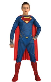 Superman Man Of Steel Tween Costume