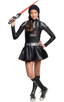 Darth Vader Girl Tween Costume