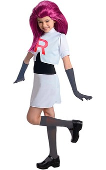 Team Rocket- Jessie Pokemon Child Costume