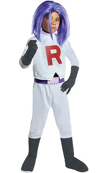 Team Rocket- James Child Pokemon Costume