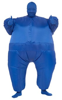 Blue Inflatable Adult Costume