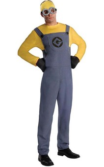 Despicable Me 2 Minion Adult Costume