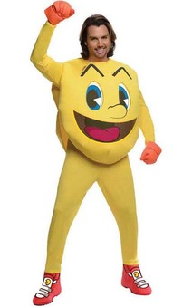 Deluxe Pac Man Adult Costume