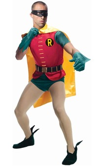 Grand Heritage Robin Classic Batman Tv Series Adult Costume