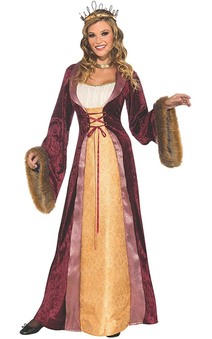 Deluxe Adult Milady Of The Castle Costume