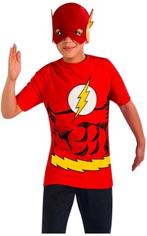 Flash T-shirt Child Costume
