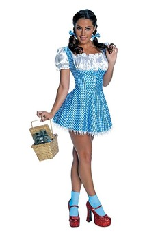 Wizard of Oz Dorothy Sequin Adult Costume