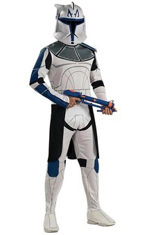 Clone Trooper Captain Rex Star Wars Adult Costume