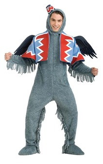 Deluxe Winged Monkey Adult Costume