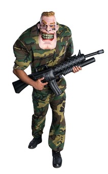 Corporal Punishment Adult Soldier Costume