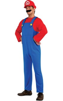 Super Mario Bros - Mario Adult Costume