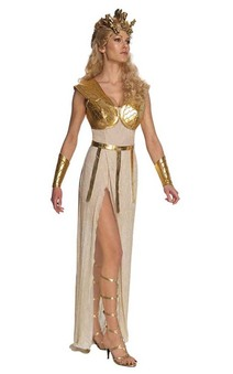 Athena Greek Roman Toga Adult Costume