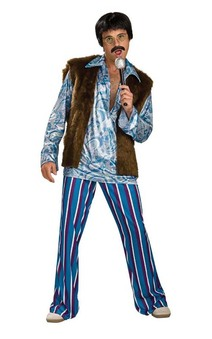 60's Hippie Rockstar Adult Costume