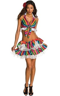 Sexy Mexy Adult Womens Costume