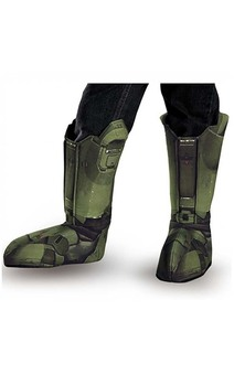 Master Chief Halo Adult Boot Covers