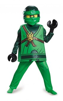 Deluxe Lloyd Ninjago Child Lego Costume