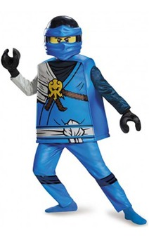 Deluxe Jay Ninjago Child Lego Costume