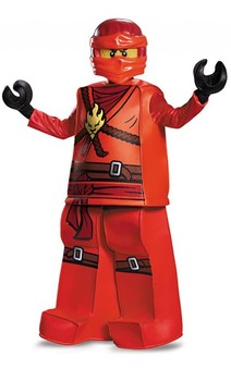 Prestige Kai Ninjago Child Lego Costume