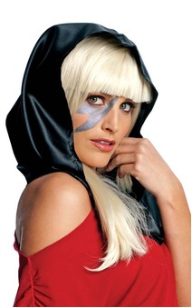 Black Scarf Lady Gaga Accessory