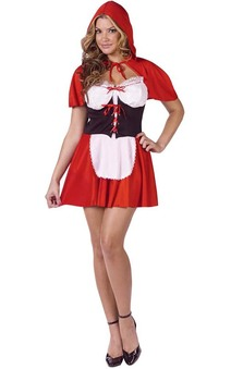 Little Red Riding Hood Adults Costume