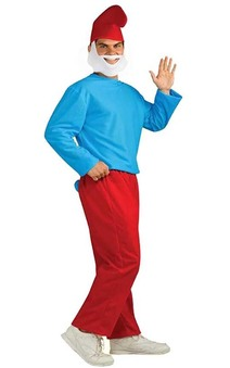 Pappa Smurf Adult Costume