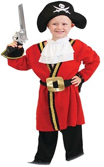 Captain Hook Pirate Child Costume