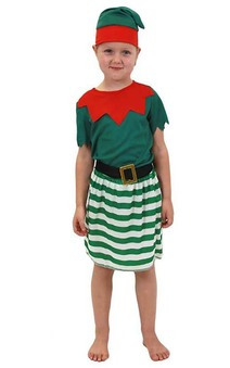 Toddler Elf Girl Christmas Costume