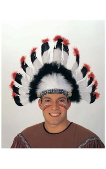 Native American Headdress Adult Headpiece