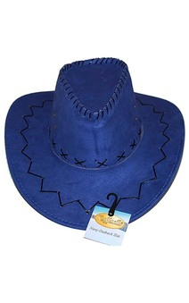 Blue Outback Cowboy Adult Hat