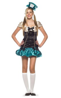 Mad Hatter Tea Party Teen Costume