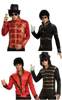 Michael Jackson Bad Military Thriller Adult Jacket