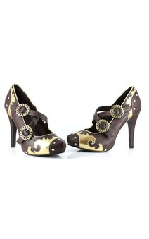 Victorian Steampunk Industrial High heels