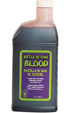 Pint Of Fake Blood