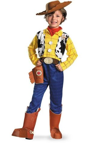 Deluxe Woody Child Toddler Costume