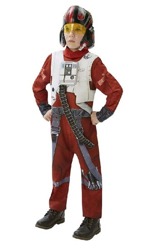 Deluxe Poe X-wing Fighter Child Star Wars Costume