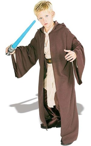 Deluxe Hooded Jedi Robe Star Wars Child Costume