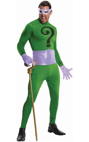 Grand Heritage The Riddler Classic Batman Tv Series Adult Costume