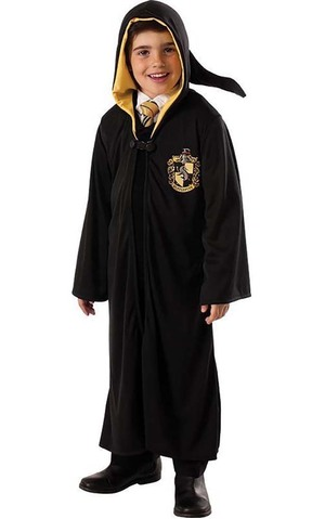 Hufflepuff Harry Potter Robe Child Costume